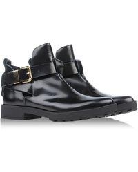 Miista Black Ankle Boots - Lyst