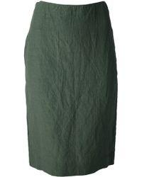 Marni Crinkle Skirt - Lyst