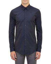 Balenciaga Poplin Shirt - Lyst