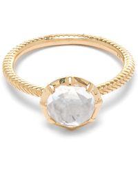 Larkspur & Hawk - Gold Bella Stacking Ring - Lyst