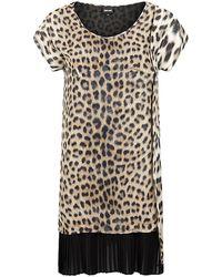 Just Cavalli Leopard Print Tunic Top - Lyst