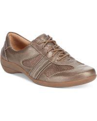 Naturalizer Brown Faina Sneakers - Lyst