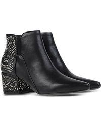 Belle By Sigerson Morrison | Embellished Ankle Boots | Lyst