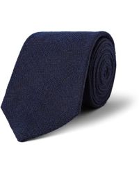 Turnbull & Asser Cashmere Wool and Silkblend Tie - Lyst