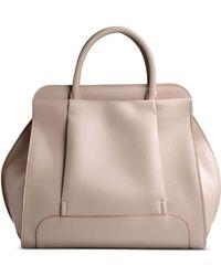 Sonia Rykiel Medium Leather Bag beige - Lyst