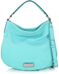 Marc By Marc Jacobs New Q Hillier Leather Hobo - Lyst