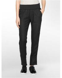 Calvin Klein White Label Performance Jogger Ankle Pants - Lyst