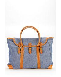 Tk Garment Supply   Denim Weekender Bag   Lyst