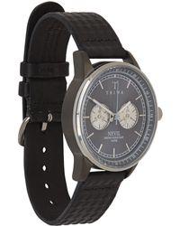 Triwa Black Ash Nevil Chronograph Watch