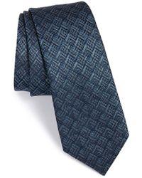 Lanvin - Jacquard Silk Tie - Lyst