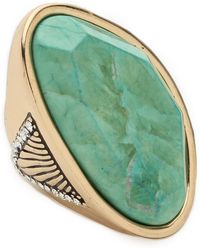 Samantha Wills January Smile Ring Mint - Lyst