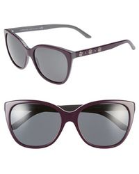 Versace 'Rock Icons' 57Mm Polarized Sunglasses - Lyst