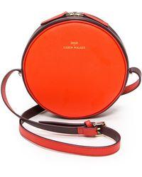 Karen Walker Marion Mini Round Bag  Scarletox Blood - Lyst