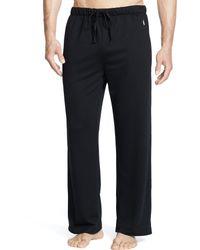 Polo Ralph Lauren Ultra-soft Sleep Pant - Black