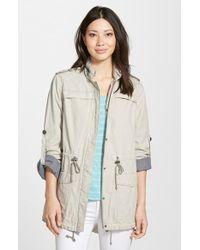 Levi's Lightweight Cotton Hooded Jacket - Lyst