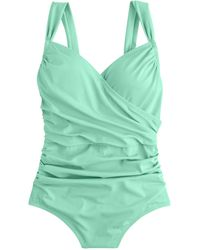 J.Crew Ruched Wrap Tank - Lyst