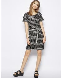 NW3 by Hobbs | Dress with Mini Cat Print | Lyst