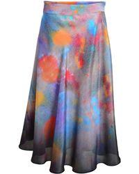 Klements - Eglantine Skirt In Painters Print-last One - Lyst