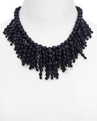 """Kate Spade Fringe Appeal Necklace, 17"""" - Lyst"""