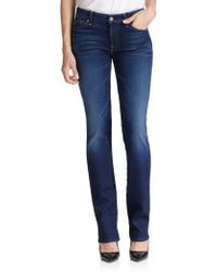 7 For All Mankind Kimmie Straight-fit Jeans - Lyst