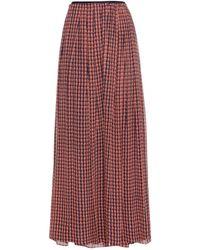 Tory Burch Odila Silk Skirt - Lyst