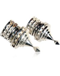 KTZ - Magnetic Spike Earrings - Lyst