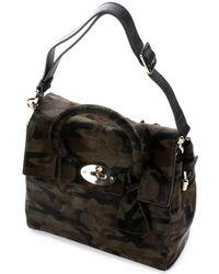 Mulberry Camo Calf Hair 'Cara Delevingne' Convertible Top Handle Bag - Lyst