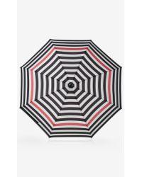 Express Multicolor Striped Umbrella - Lyst