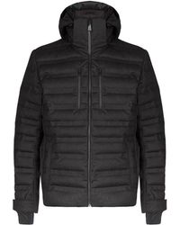 Aztech Nuke Quilted Wool Down Jacket - Black