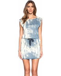 Maison Scotch Printed Summer Dress - Lyst