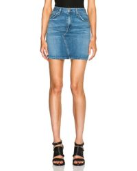 Rag & Bone/JEAN Mini Skirt - Lyst