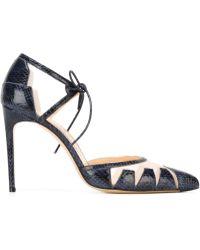 Bionda Castana 'lana' Court Shoes - Blue