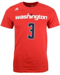 Adidas Mens Bradley Beal Washington Wizards Player T-shirt - Lyst