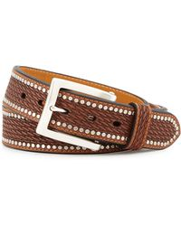 Will Leather Goods - Studded Basket Belt - Lyst