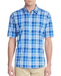 James Campbell - Plaid Regular Fit Shirt - Lyst