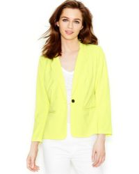 Kensie Three-Quarter-Sleeve Blazer - Lyst
