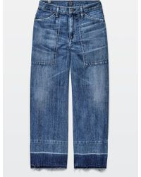 Citizens of Humanity | 2015 Fw Wide Leg Crop Jeans | Lyst