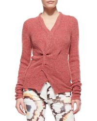 Etoile Isabel Marant Reone Pinchfront Sweater - Lyst