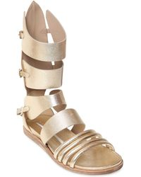 Camilla Skovgaard - 30mm Metallic Leather Sandals - Lyst