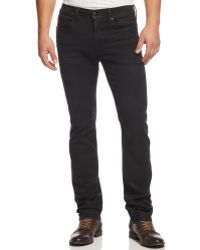 Joe's Jeans Jeans The Brixton Straight  Narrow Marce Coated Jeans - Lyst