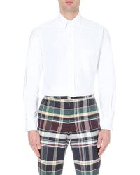 Thom Browne Classic Button-down Collar Shirt - Lyst