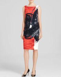 Max Mara Dress - Duse Sleeveless Print - Lyst