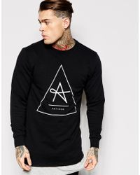 Antioch Longline Sweatshirt - Black