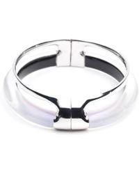 Alexis Bittar | Double Band Liquid Glazed Hinge Bracelet | Lyst