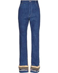 Toga - High-rise Kick-flare Embellished Jeans - Lyst