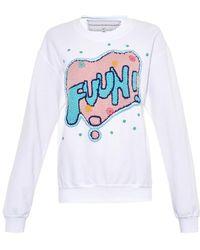 Michaela Buerger - Miss Lets Have Some Jersey Sweatshirt - Lyst