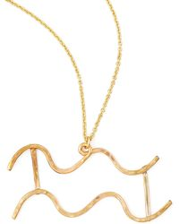 Gaugenyc - Aquarius Necklace - Lyst