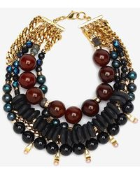 Lizzie Fortunato Of The Night Necklace - Lyst