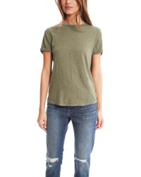 Current/Elliott The Rolled Sleeve Crew Tee - Lyst