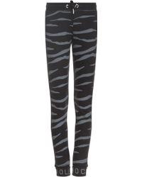 Zoe Karssen Tiger Print Sweatpants - Lyst